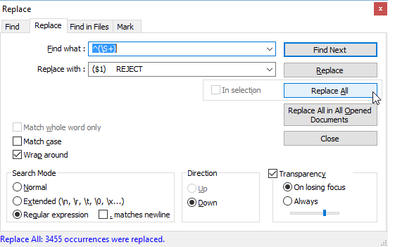 RegEx for Postfix antispam restrictions